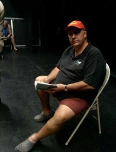 John at rehearsal