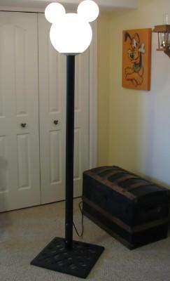 Gary's Mickey Lamp Post